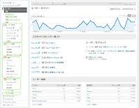 visitors in report of google analytics